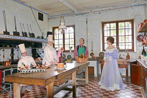 Les cuisines du château de Breteuil