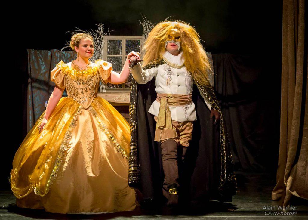 La Belle et la Bête au château de Breteuil