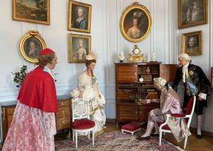 Marie-Antoinette et le cardinal de Rohan