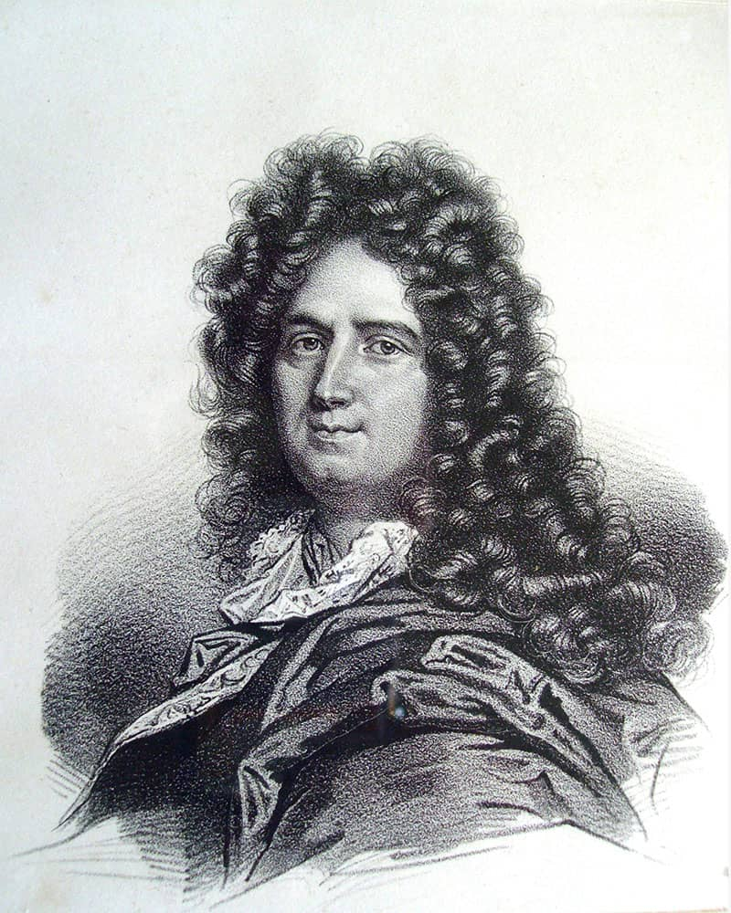 Portrait of Charles Perrault, author of the Tales