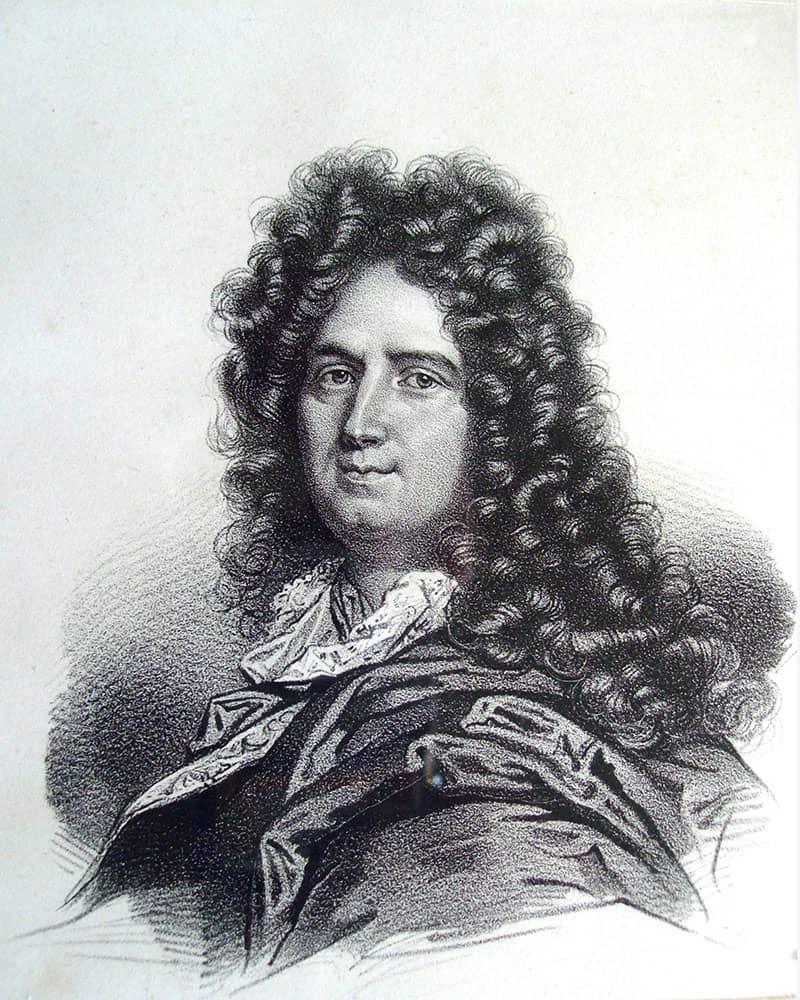 Portrait de Charles Perrault, auteur des Contes