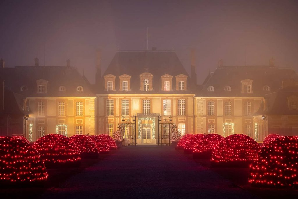 Illuminations de Noël au château de Breteuil