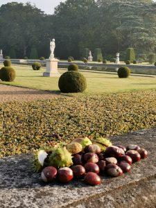 Le château de Breteuil à l'automne